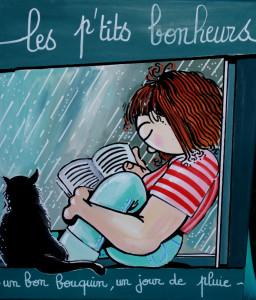 un bon bouquin, un jour de pluie