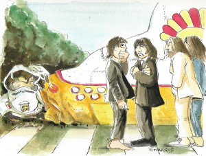 yellow submarine meets abbey road 2  ( remplace le 1, plus faib